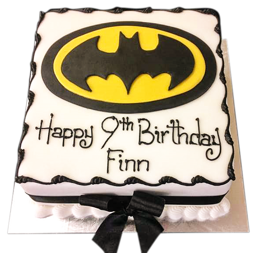 Awesome Celebrate With Batman Birthday Cakes Personalised Birthday Cards Veneteletsinfo