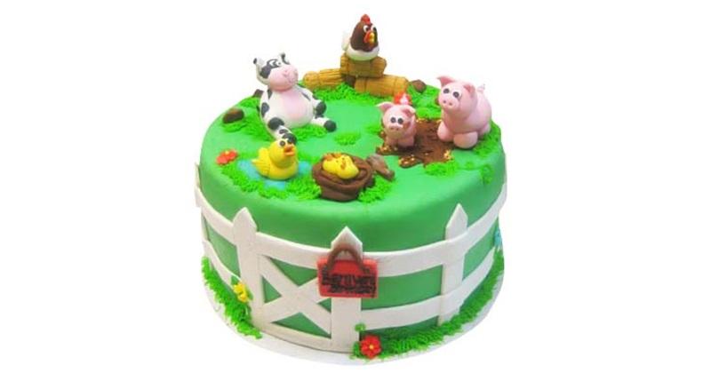 Strange Chocolate Pig Farm Birthday Cake Funny Birthday Cards Online Unhofree Goldxyz