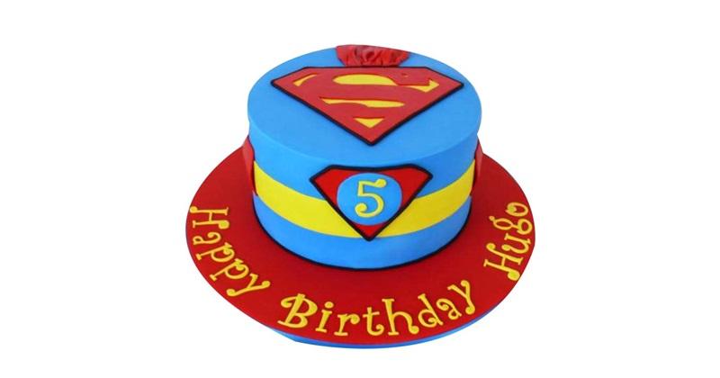 Admirable Superman Birthday Cakes Funny Birthday Cards Online Necthendildamsfinfo