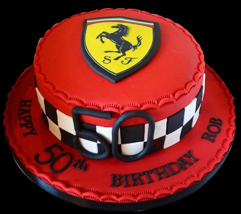 Astounding Ferrari Cake Funny Birthday Cards Online Ioscodamsfinfo