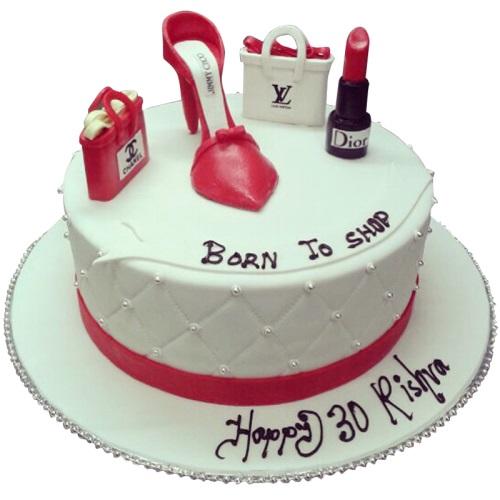 Excellent Fashion Birthday Cake Funny Birthday Cards Online Bapapcheapnameinfo