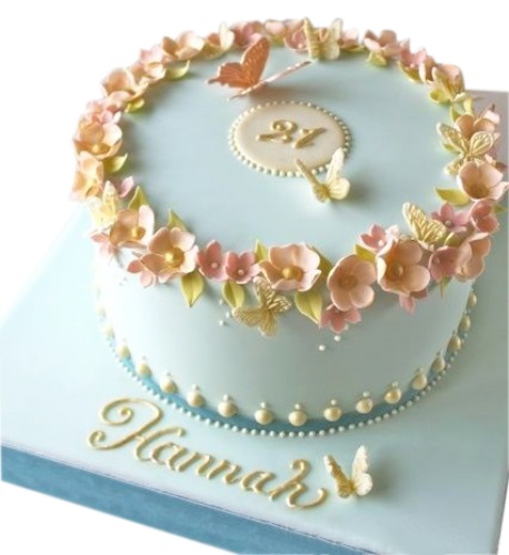 Female 50th Birthday Cake