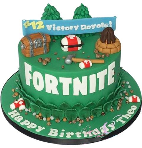 Birthday cake fortnite