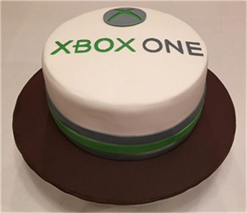 SXbox One Birthday Cake