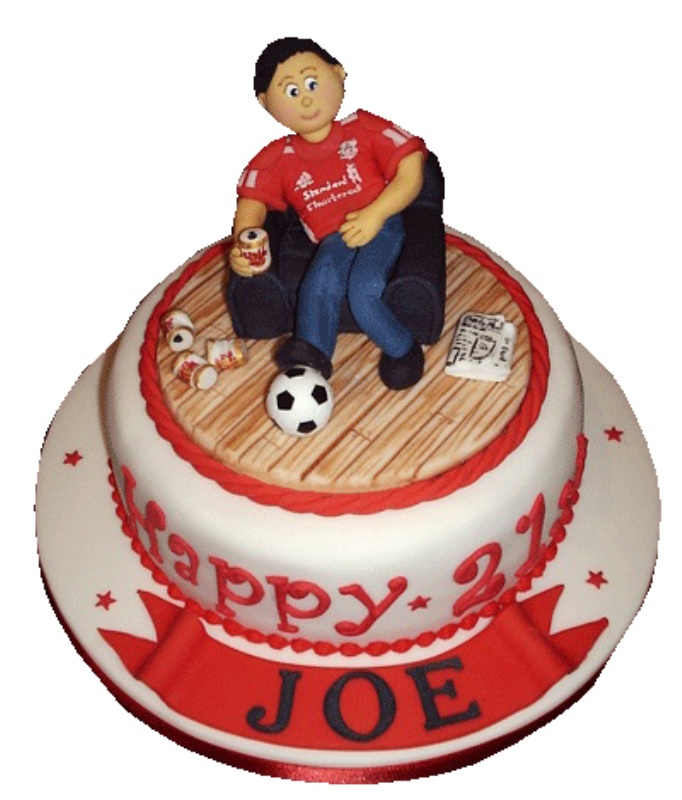 21st Birthday Cake for Men