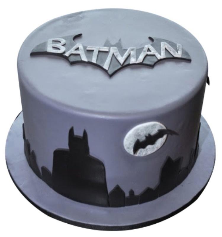 Magnificent Batman Birthday Cake Eggless Gluten Free Options Funny Birthday Cards Online Elaedamsfinfo