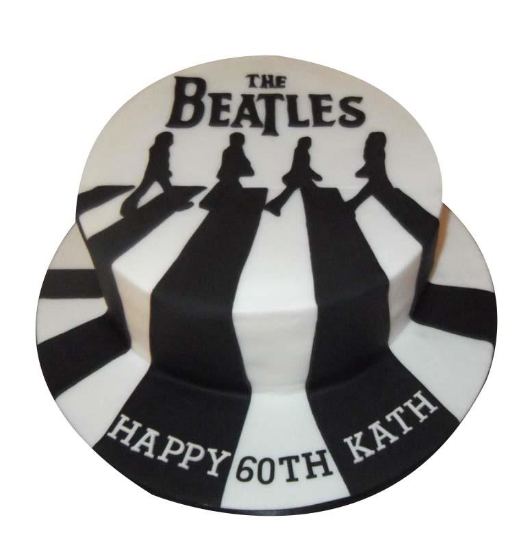Strange Beatles Cake Funny Birthday Cards Online Alyptdamsfinfo