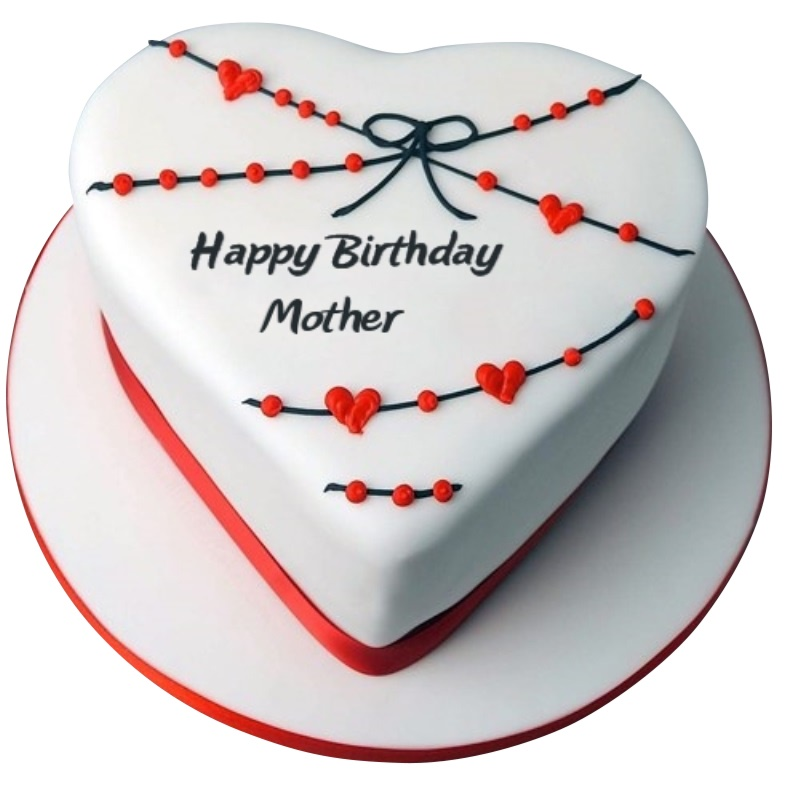 Magnificent Birthday Cakes For Mom Personalised Birthday Cards Veneteletsinfo