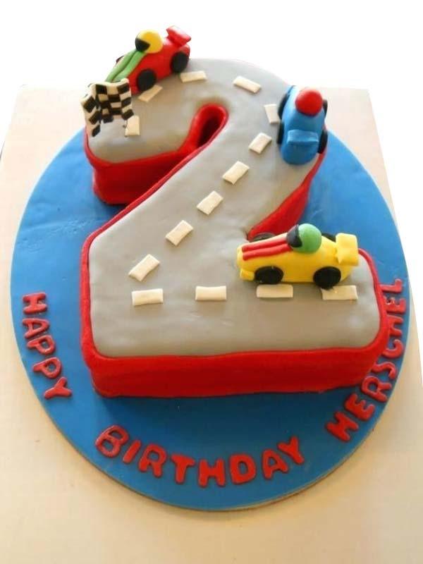 Boys 2 Birthday Cake