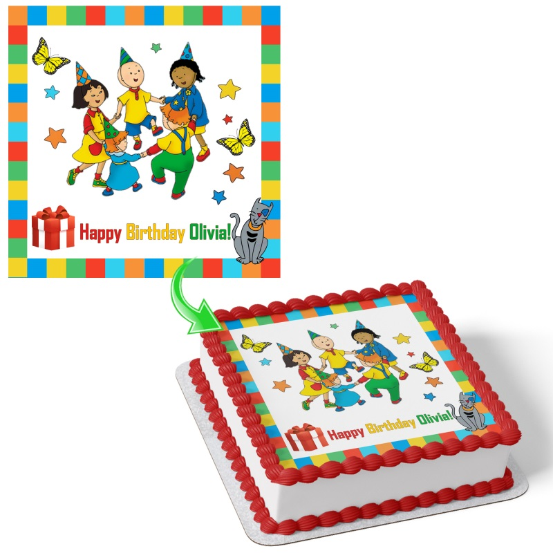 Magnificent Caillou Cake Funny Birthday Cards Online Bapapcheapnameinfo