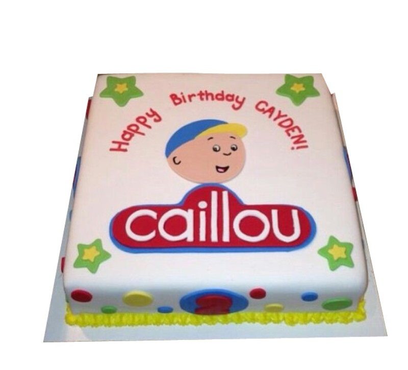 Miraculous Caillou Cake Funny Birthday Cards Online Elaedamsfinfo