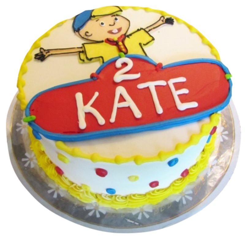 Outstanding Caillou Cake Funny Birthday Cards Online Bapapcheapnameinfo