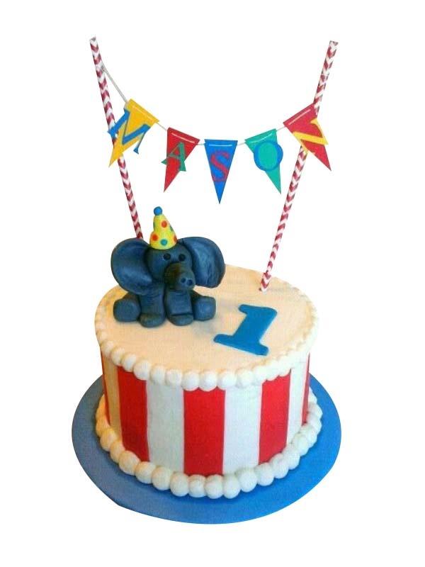 Astonishing Circus Birthday Cake Funny Birthday Cards Online Elaedamsfinfo
