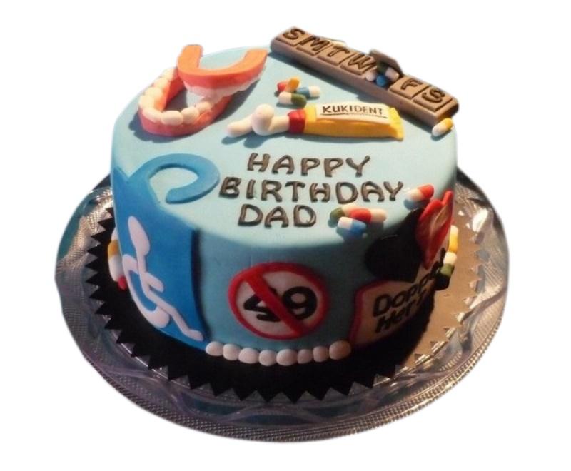 Astounding Dad Birthday Cake Funny Birthday Cards Online Bapapcheapnameinfo
