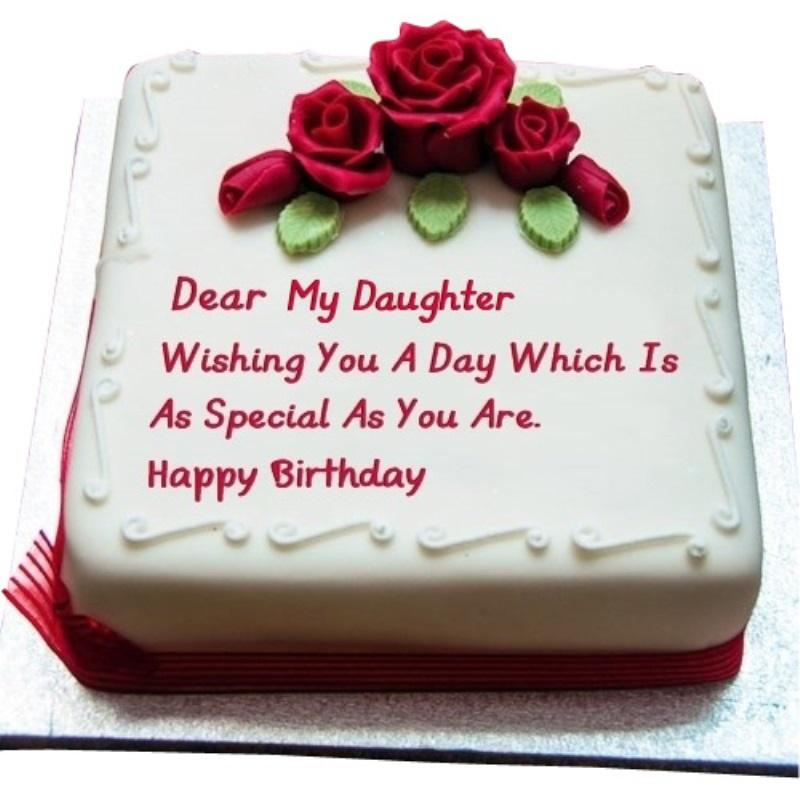 Daughter Birthday Cake