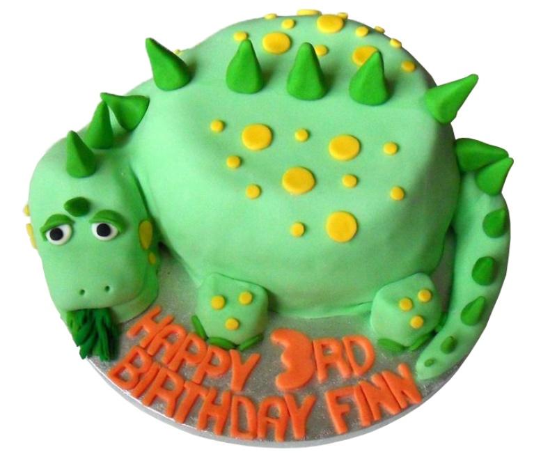 Terrific Dinosaur 3Rd Birthday Cake Funny Birthday Cards Online Overcheapnameinfo