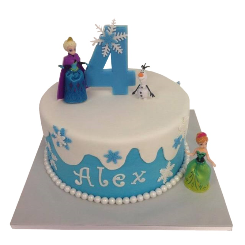 Pleasant Disney Frozen Birthday Cake Personalised Birthday Cards Paralily Jamesorg