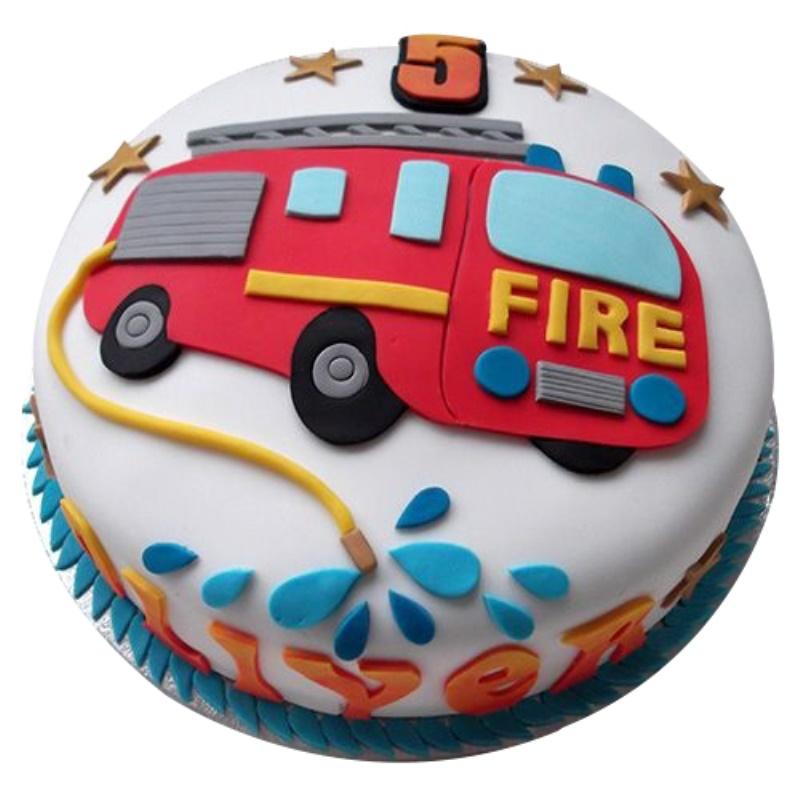 Incredible Fireman Sam Birthday Cake Funny Birthday Cards Online Elaedamsfinfo
