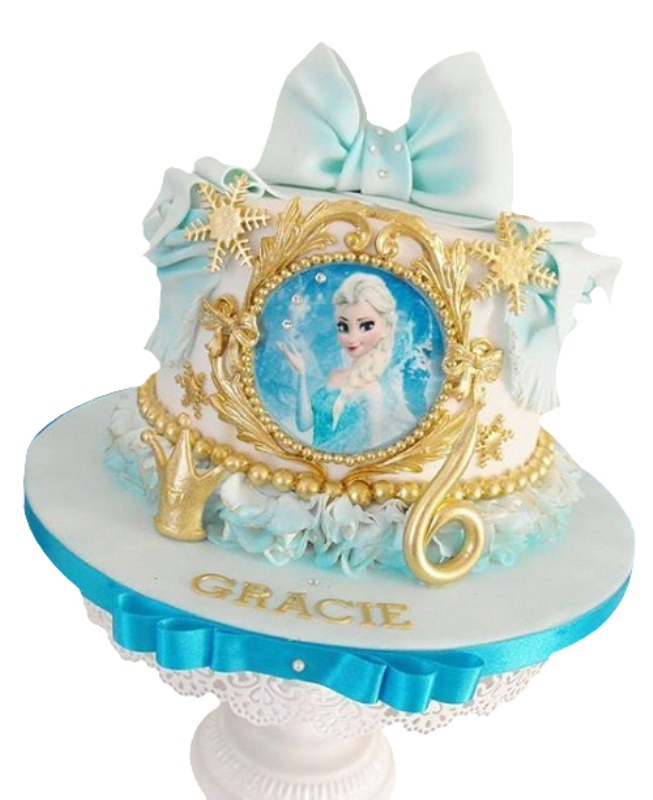 Frozen Character Cake For Kids