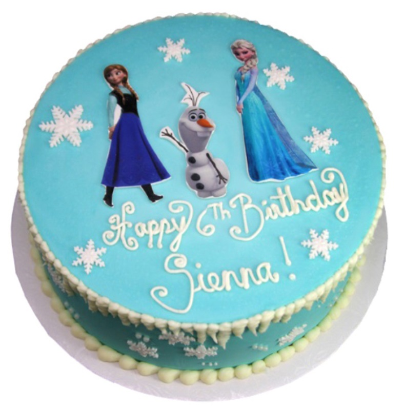 Cool Frozen Elsa Birthday Cake Funny Birthday Cards Online Unhofree Goldxyz