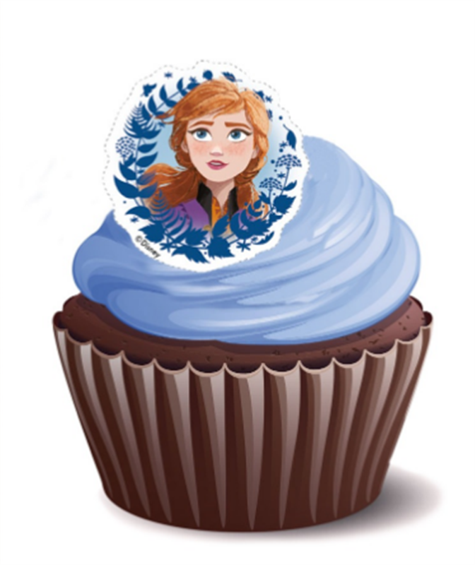 Frozen Elsa Cupcakes - Pack of 6