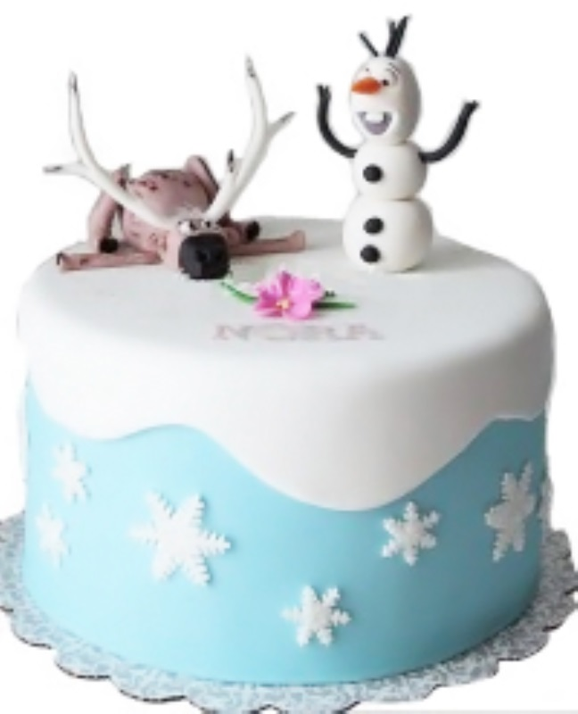 Frozen Picture Cake for Kids