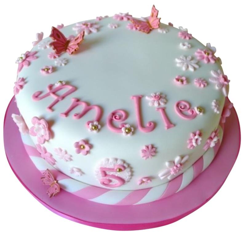 Astounding Kids Girl Birthday Cake Funny Birthday Cards Online Bapapcheapnameinfo