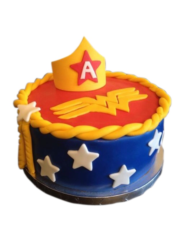 Lasso Crown Wonder Woman Cake