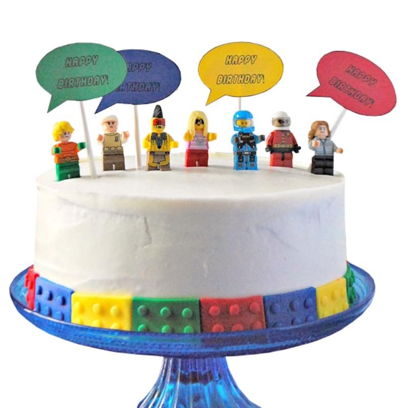 Admirable Lego Birthday Cake Funny Birthday Cards Online Fluifree Goldxyz