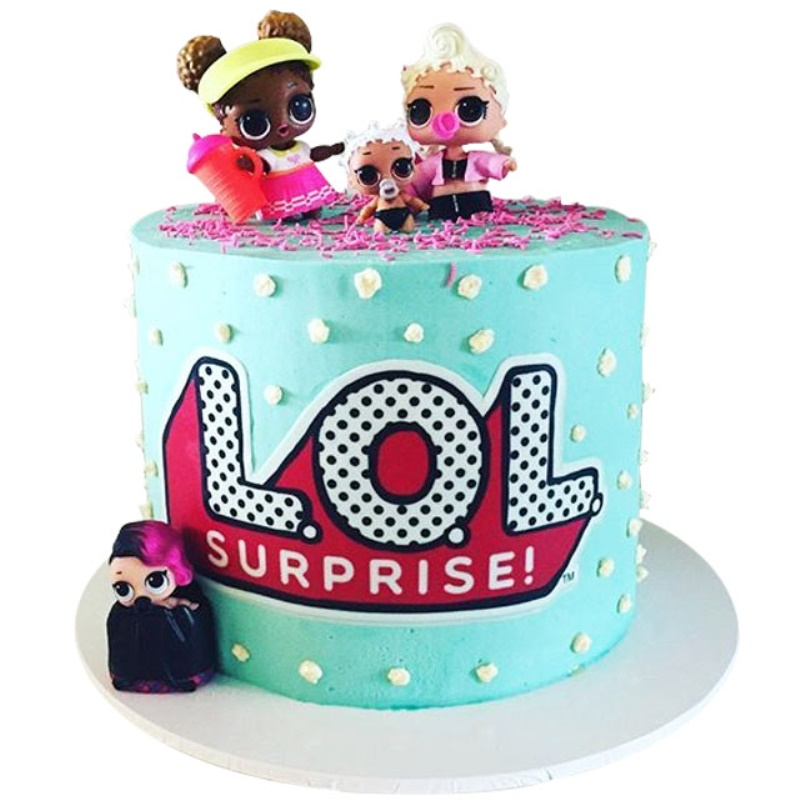 Lol doll surprise cake