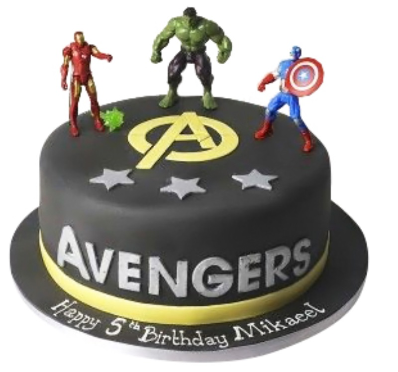 Enjoyable Superheroes Avengers Birthday Cake Funny Birthday Cards Online Alyptdamsfinfo