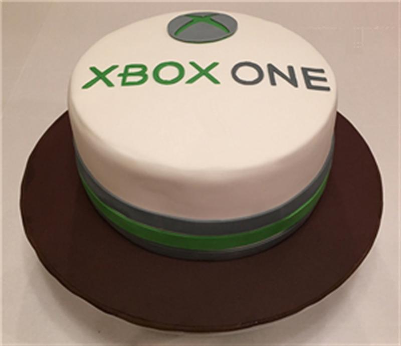 SXbox One Birthday Cake