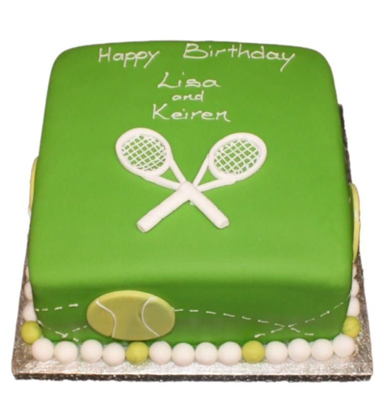 Strange Tennis Theme Birthday Cake Funny Birthday Cards Online Alyptdamsfinfo