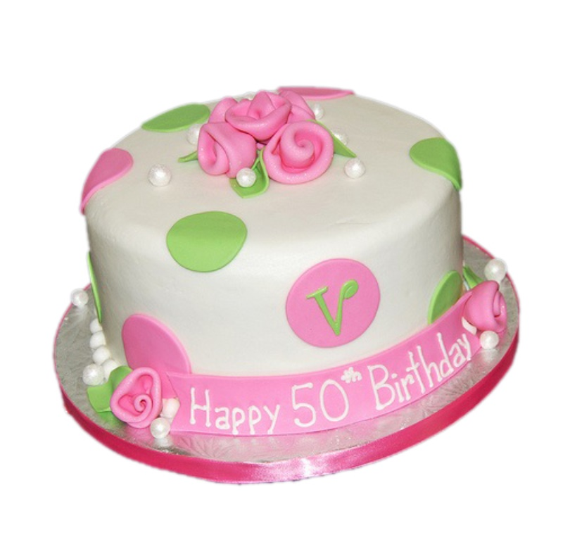 Pleasant Womans 50Th Birthday Cake Funny Birthday Cards Online Inifodamsfinfo