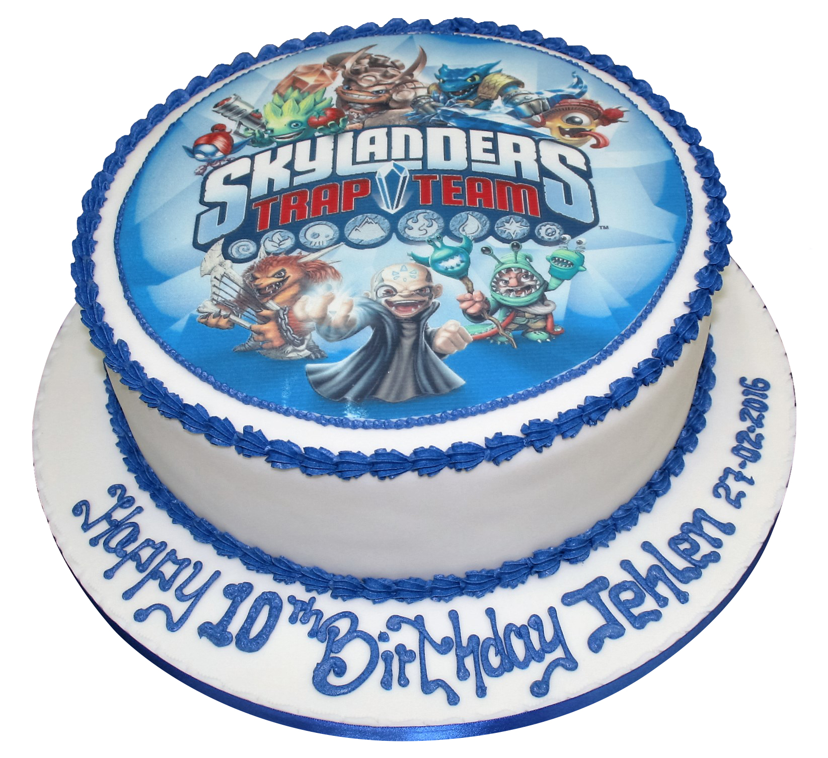 Amazing Skylanders Themed Birthday Cake Funny Birthday Cards Online Elaedamsfinfo